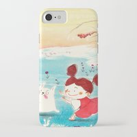 studio ghibli iPhone & iPod Cases featuring Fan-art Studio Ghibli  by Maureen Poignonec