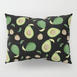 Avocado gen z fashion apparel food fight gifts black Pillow Sham