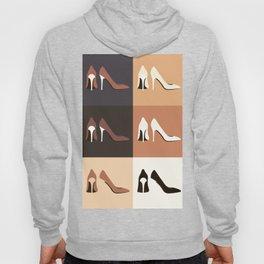 heel shoes-ıv Hoody