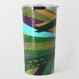 I'll Cover You - Tropical Palm Leaves Illustration Travel Mug
