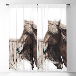 Horses Print Blackout Curtain