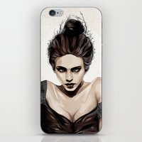 mother iPhone & iPod Skins featuring Mother, dear by Feline Zegers