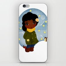 Rosy Stars iPhone & iPod Skin