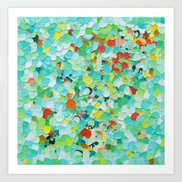 Flower Water Art Print