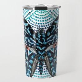 Butterfly Blues Travel Mug