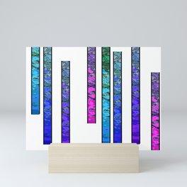 Colorful Stripes Mini Art Print