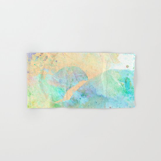 Pastel Color Splash 01 Hand & Bath Towel