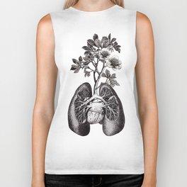 Flourishing Lungs Biker Tank