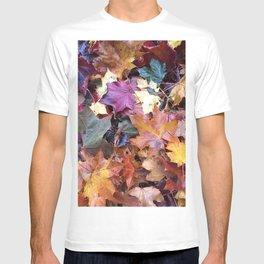 Fallen Fall Leaves T-shirt