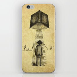 Take Me To Your Reader iPhone Skin