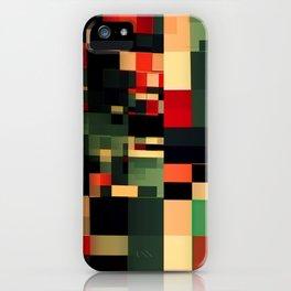 Patchwork VII iPhone Case
