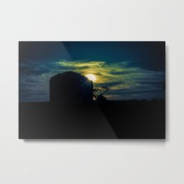 When the monks said goodnight Metal Print