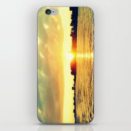 Sunset watEr :Houses Off the River iPhone Skin