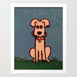 My boy, Ernie Art Print
