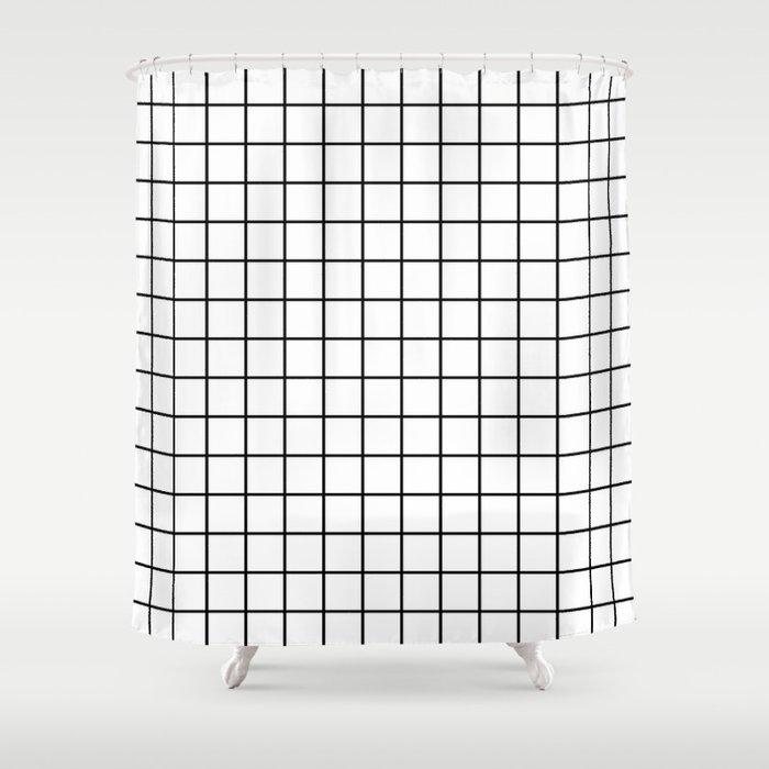 Emmy Black And White Grid Monochrome