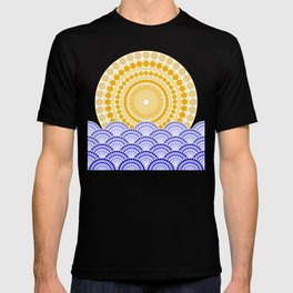 LIGHT OF DAWN (abstract tropical) T-shirt