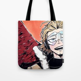 Hawks Artwork Tote Bag