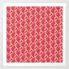 Artery Weave Art Print