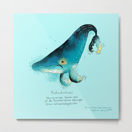 Triste dyr: Katastrohval Metal Print