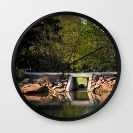 Muscogee (Creek) Nation - Honor Heights Park Azalea Festival, No. 4 of 12 Wall Clock