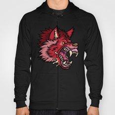 Crimson Wolf Hoody