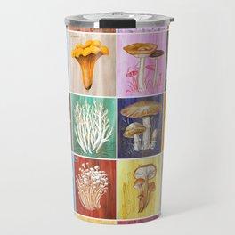 Mushroom Study Travel Mug