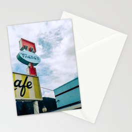 Cafe, North Bend Stationery Cards