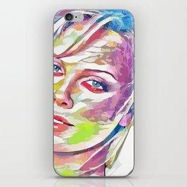 Charlize Theron (Creative Illustration Art) iPhone Skin