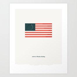 America: Freedom Loading Art Print