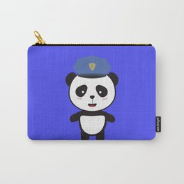 Panda Police Officer Carry-All Pouch