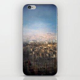 Paris Multiple Exposure  iPhone Skin