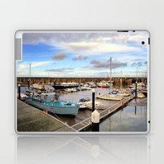 Watchet Marina Somerset England Laptop & iPad Skin