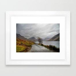 Wastwater Lake District Framed Art Print