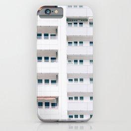 LANDSCAPE PHOTO OF BUILDING WINDOWS iPhone Case