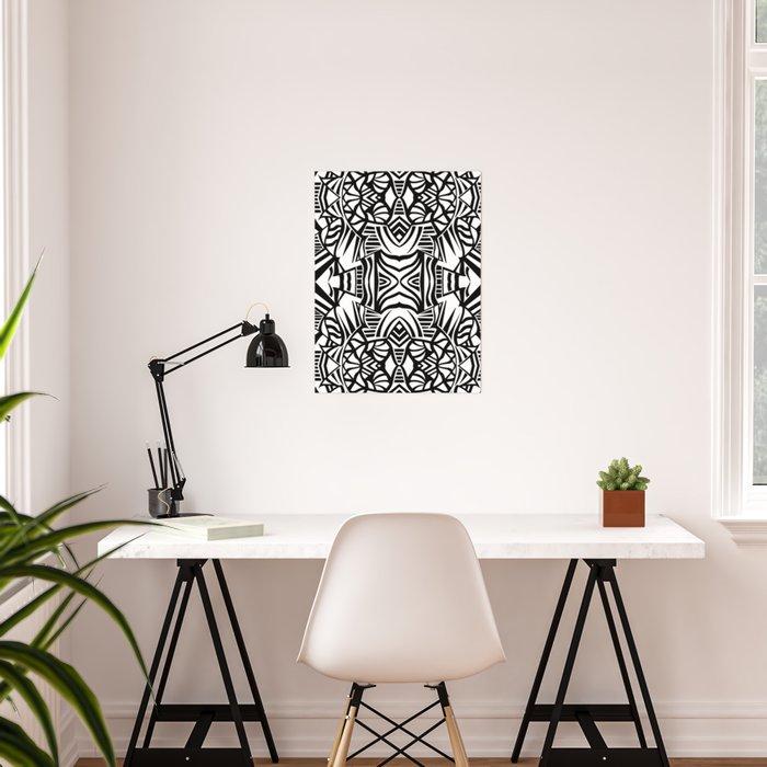 Tiki Totem Poster