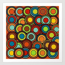 Concentic Circles Art Print