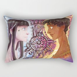 Raven x Noname Rectangular Pillow