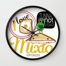 I LOVE MIXTO Wall Clock