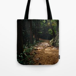 Trail Lights Tote Bag