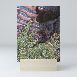 Fight for life Mini Art Print