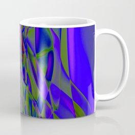 Recycled Smoke Abstract Design Coffee Mug