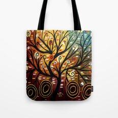 Abstract tree-9 Tote Bag