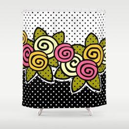 Rosie Dots Shower Curtain