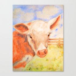 Springtime Calf Canvas Print