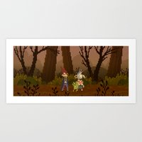 over the garden wall Art Prints featuring Over The Garden Wall by FuliFuli