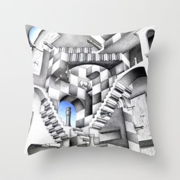 Relative Game Throw Pillow