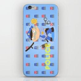 Police iPhone Skin