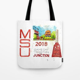 2018 MSU Game Day - The Junction Tote Bag