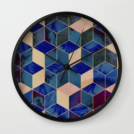 Geometrical Force #2 Wall Clock
