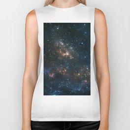 Stars and Nebula Biker Tank